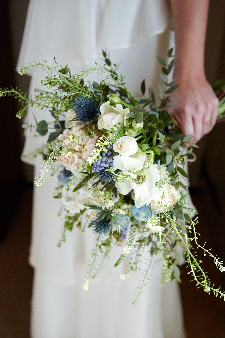 Quaint Intimate Rustic Seaside Windmill Wedding Flower Bouquet