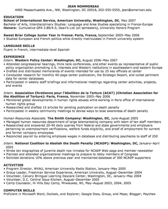 human resource resume skills cipanewsletter example of human resources resume exampleresumecv org