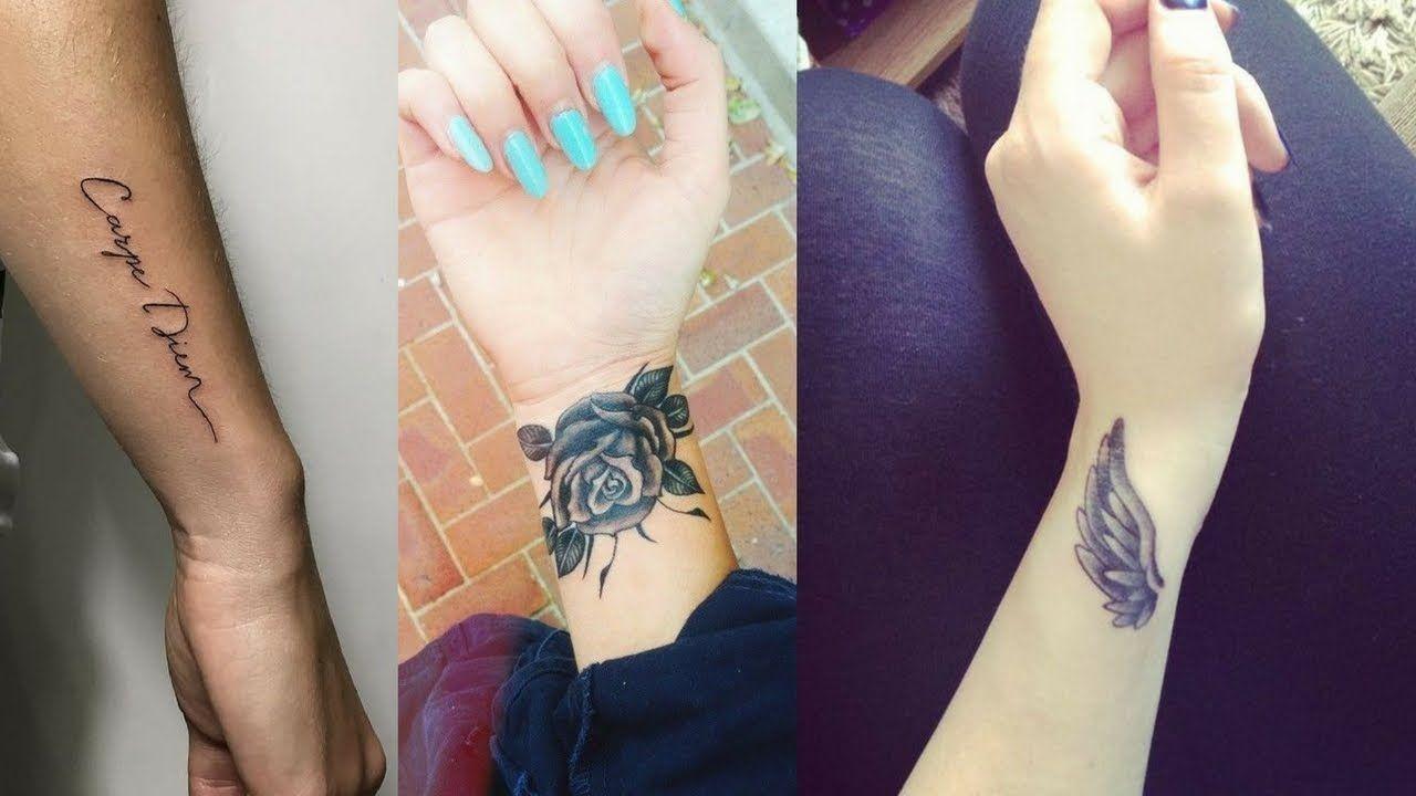 Nice Looking Female Wrist Tattoos Design And Ideas Wrist Tattoos For Women Wrist Tattoos For Guys Unique Wrist Tattoos