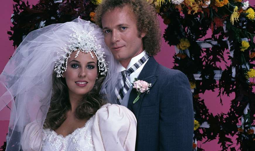'80s soap opera supercouples: Then and now - Luke & Laura, General Hospital - D'Amico/ABC via Getty Images