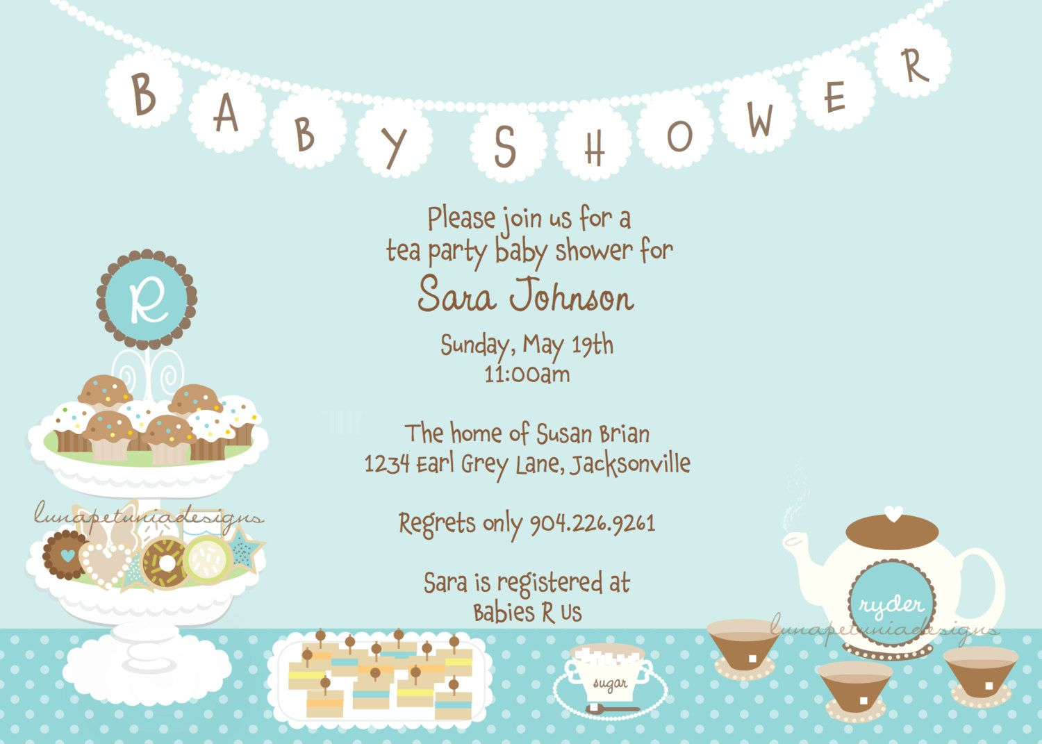 1000+ images about Baby shower on Pinterest | Blue hydrangea ...