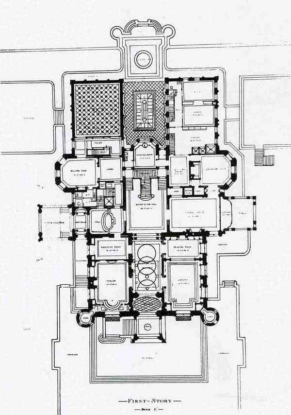 Old English Estate House Plans