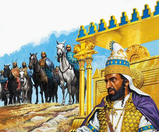 Xerxes King of Persia pictures | The First Persian empire ...