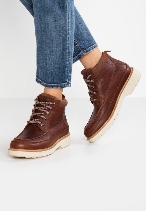 BNIB Clarks Ladies Korik Rise GTX Dark Grey Leather Gore Tex Ankle Boots