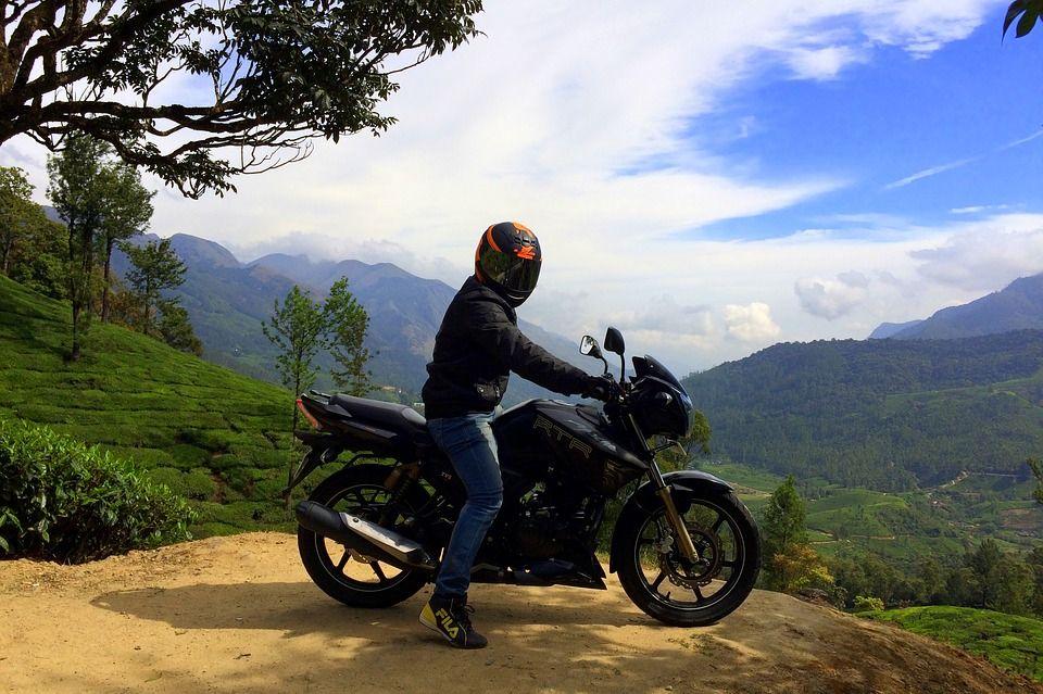 Imagem Gratis No Pixabay Moto Precipicio Motociclista Balade