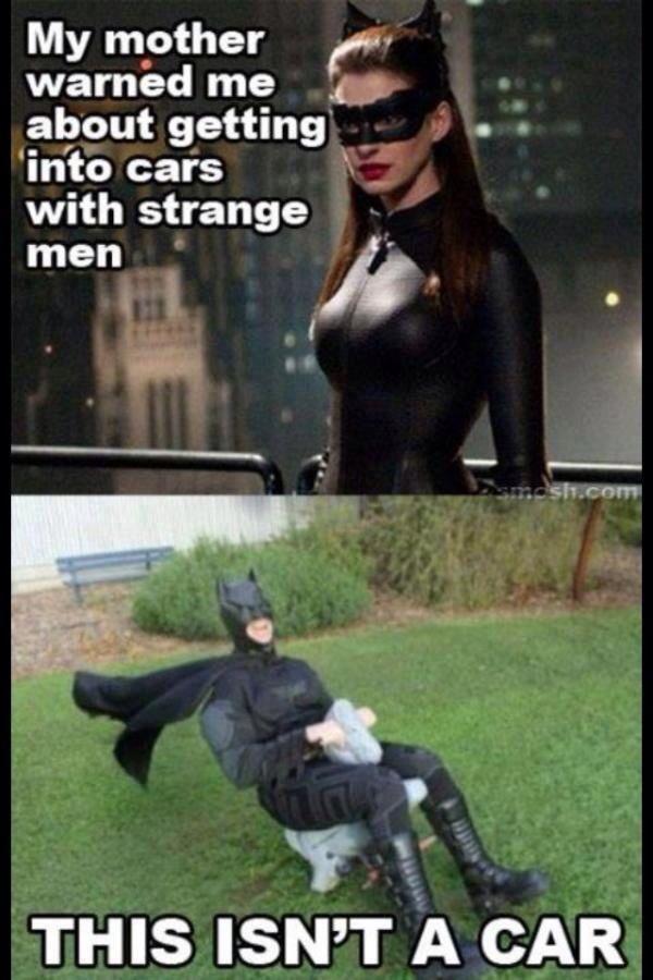 Batman isn't strange!