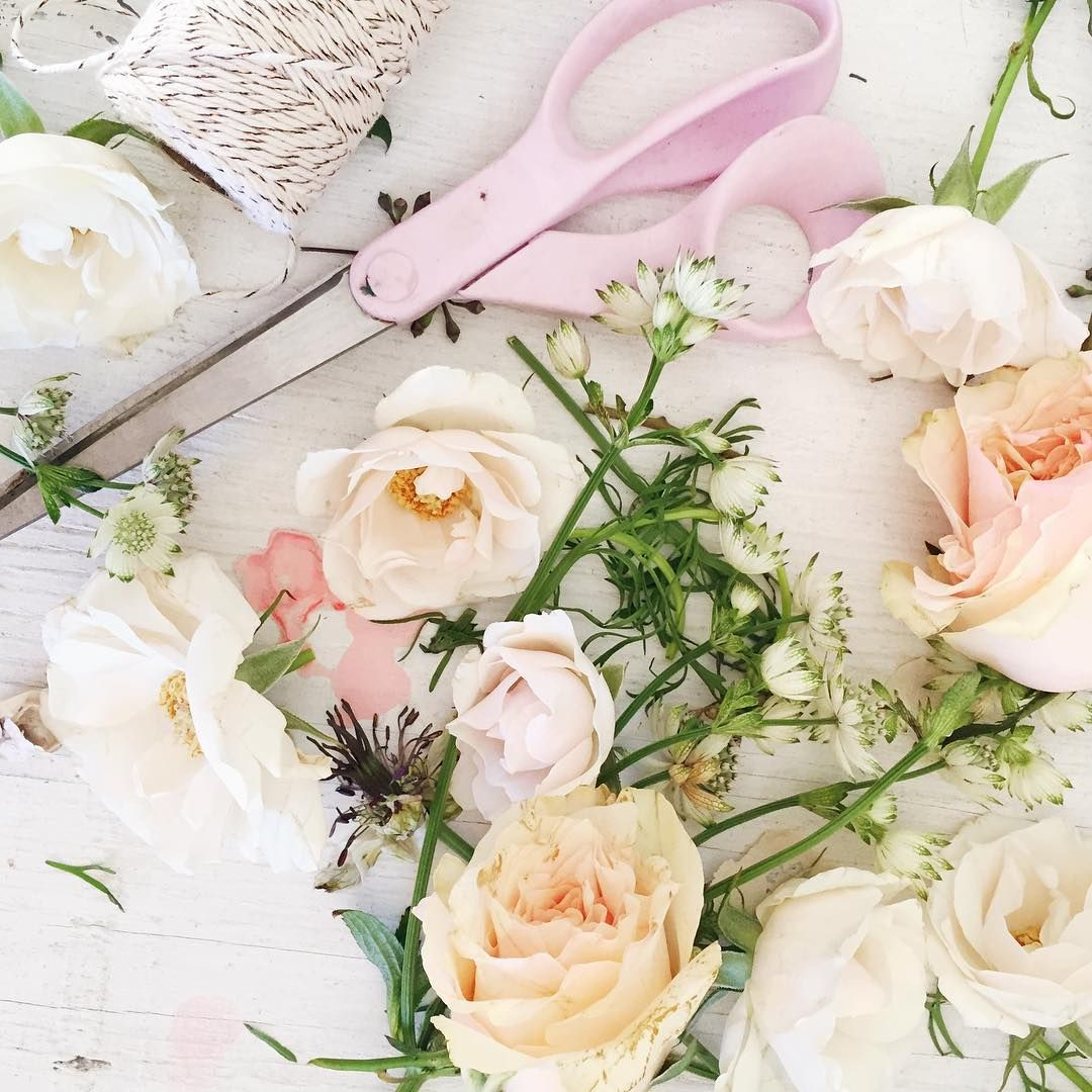 Putting Together Some Pretty Little Flower Arrangements For
