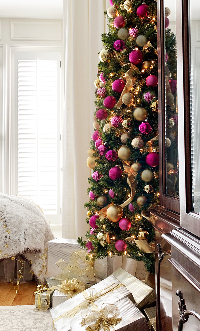 47+ Fuchsia and gold christmas tree ideas in 2021