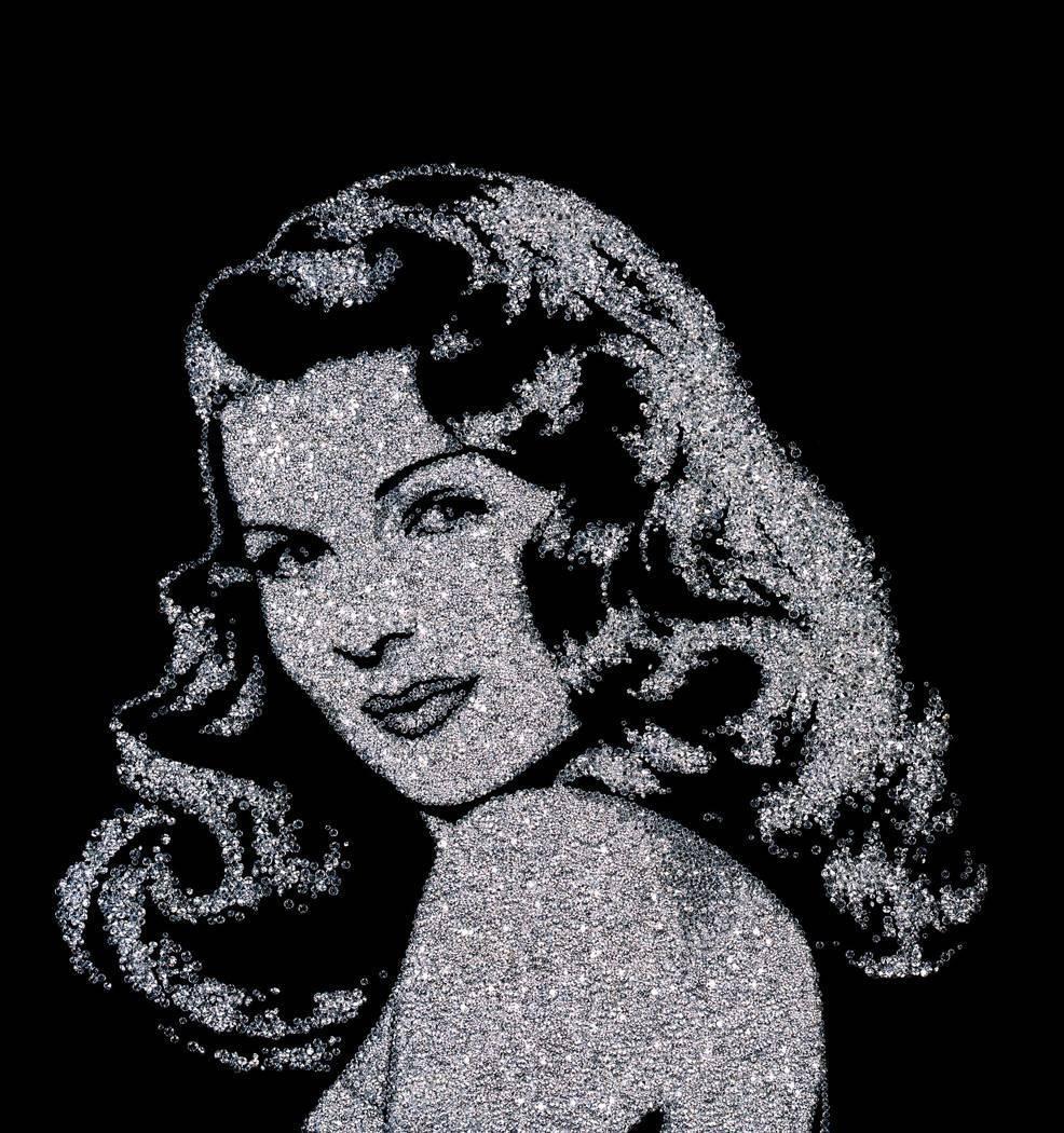 'Rita Hayworth in Diamonds' Vik Muniz