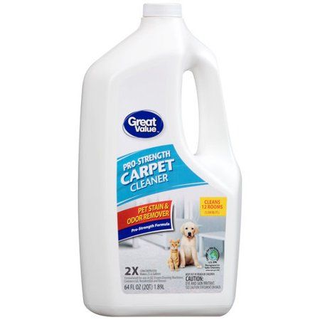 Great Value ProStrength Pet Stain & Odor Remover Carpet