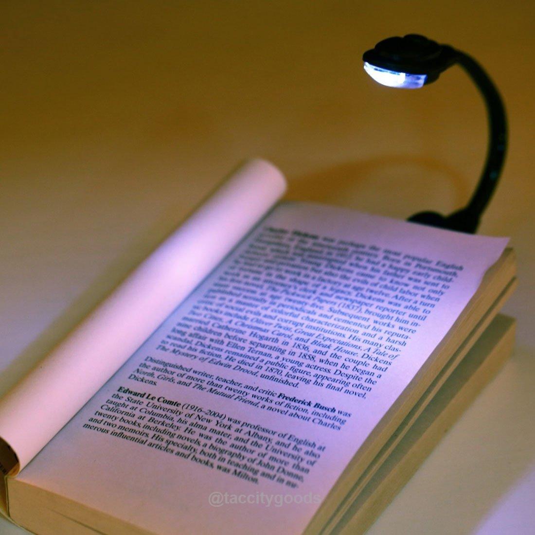 Adjustable Clip On Mini Portable Led Light Lamp Book Light Clip