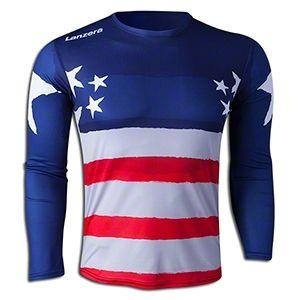 bccc3f1b46d Lanzera USA Long Sleeve Goalkeeper Jersey || SOCCER.COM | Soccer ...