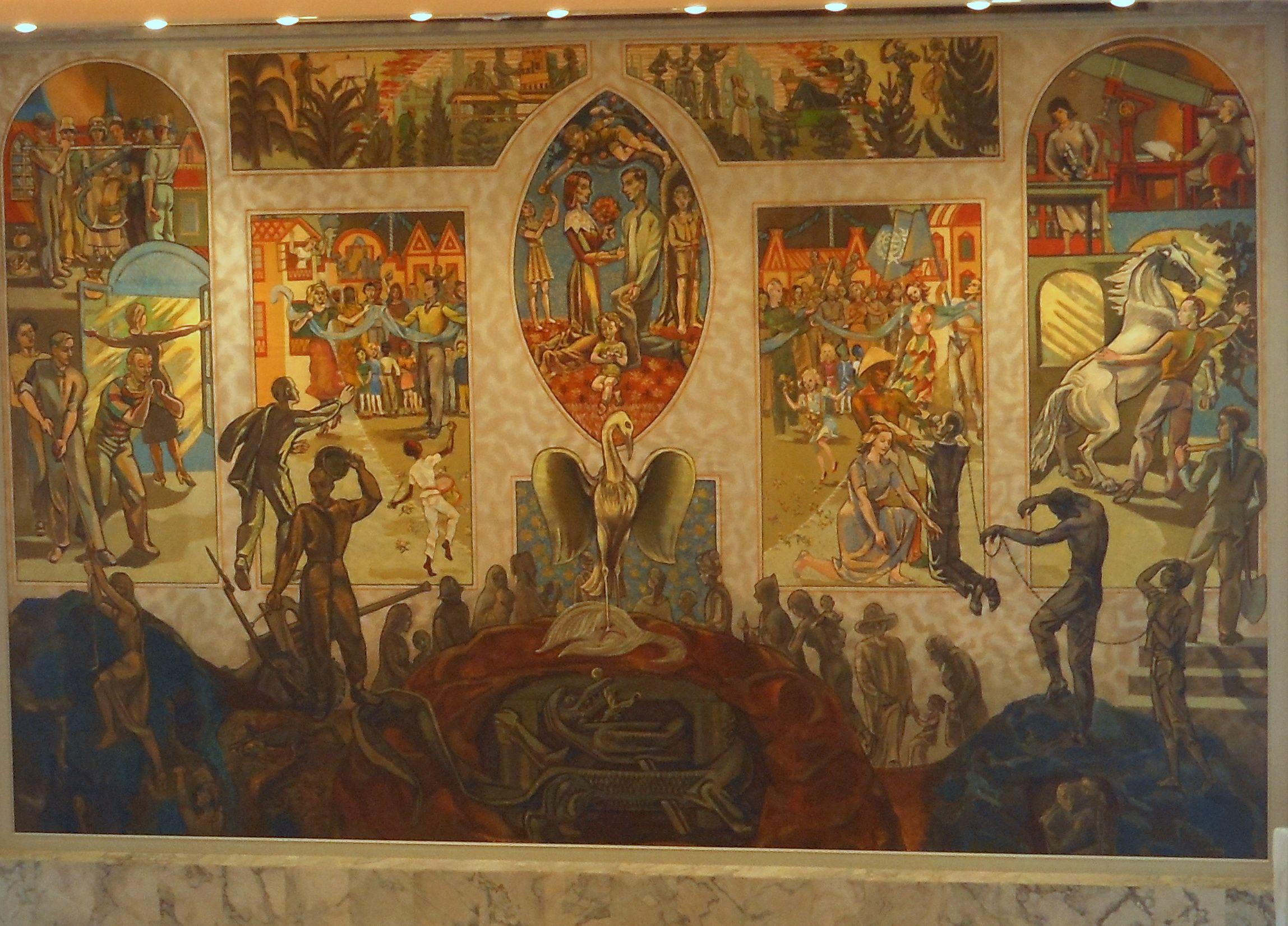 Un Security Council Mural By Sabloverviantart On