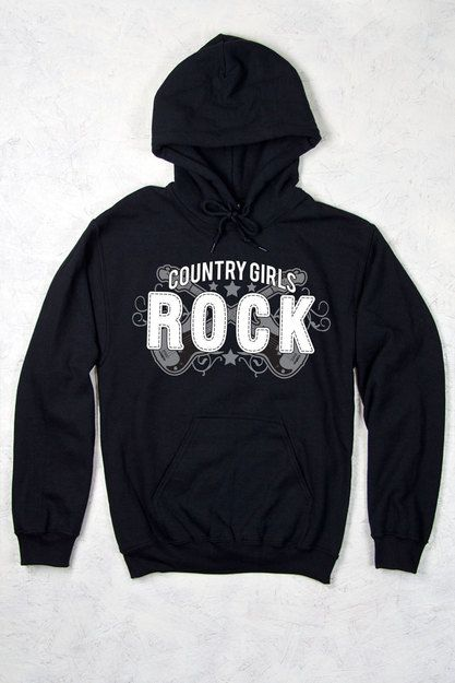 Women's Country Girl® Rock Relaxed Pullover Hoodie