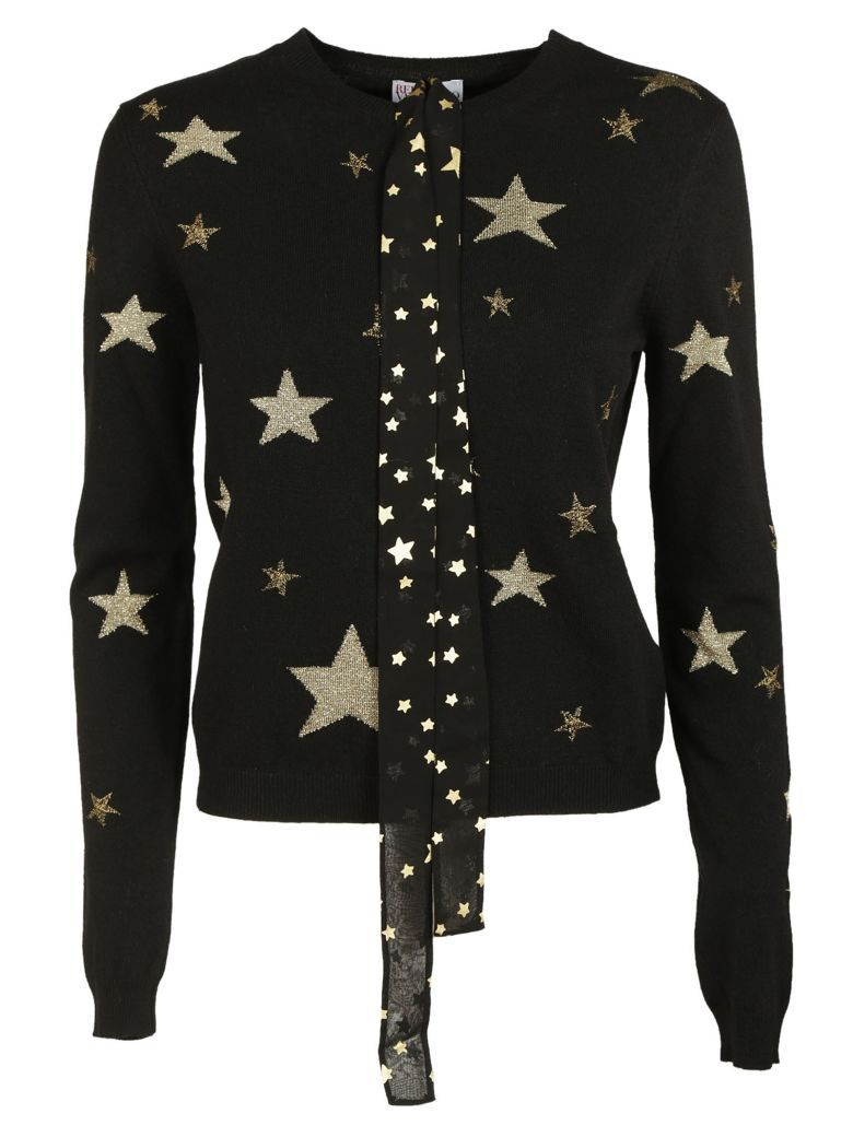 RED VALENTINO RED Valentino Stars Sweater redvalentino cloth