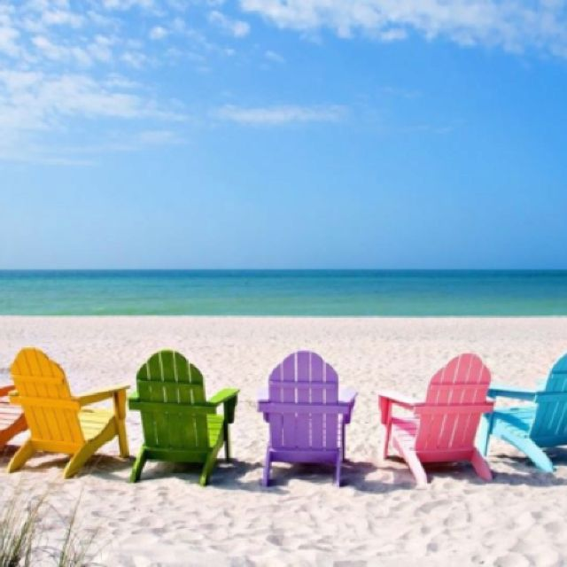 Pin de Olga Moya Gómez en #COLORIDO# Pinterest Día de y Playa - sillas de playa