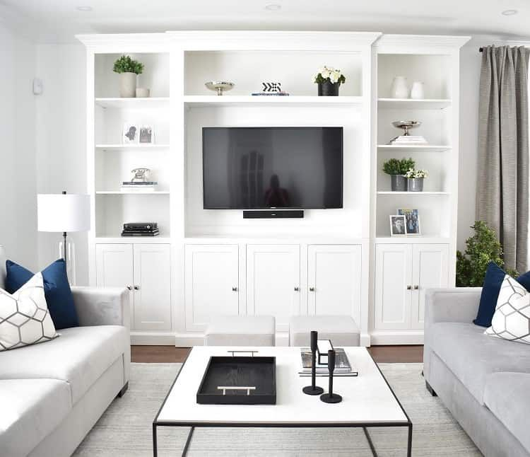 The 50 Best Entertainment Center Ideas Home And Design Living Room Entertainment Living Room Entertainment Center Living Room Wall Units