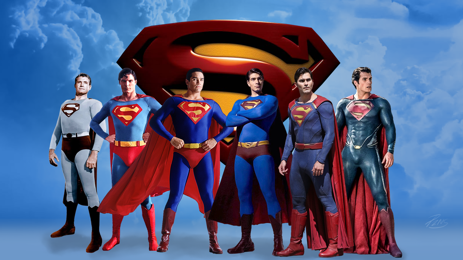 Henry Cavill Cavell Superman Who Wore It Best With George Reeves Christopher Reeve Brandon Routh