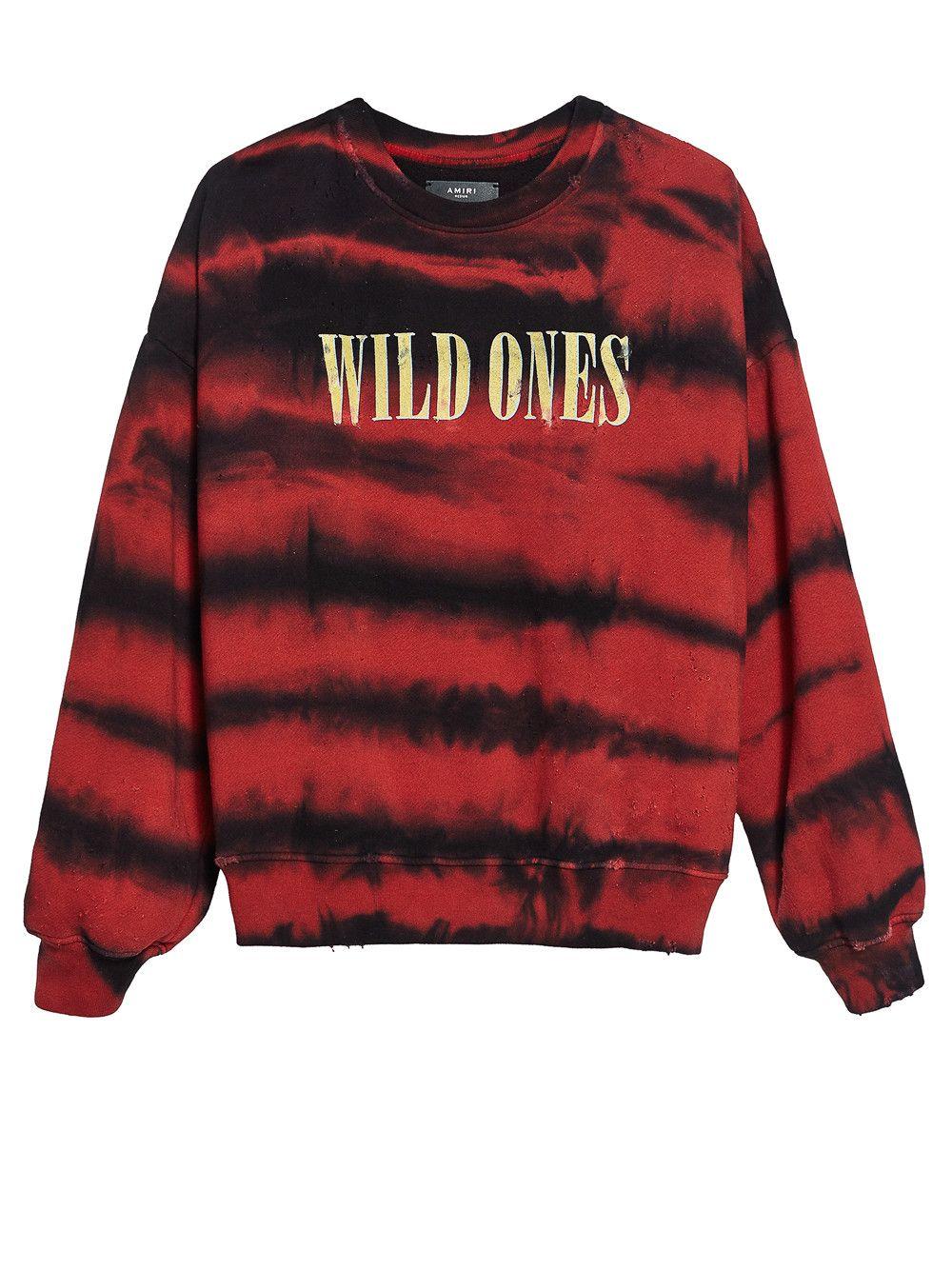 395b3d15399 AMIRI wild ones tie and dye sweatshirt.  amiri  cloth