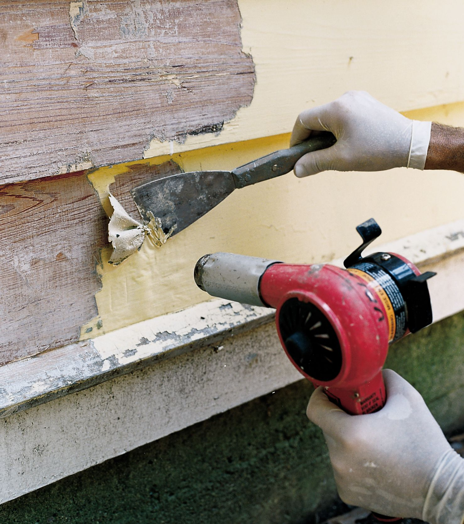 How To Strip Years Of Paint Off A House Porch Paint Exterior Wood Paint Wood Siding Exterior