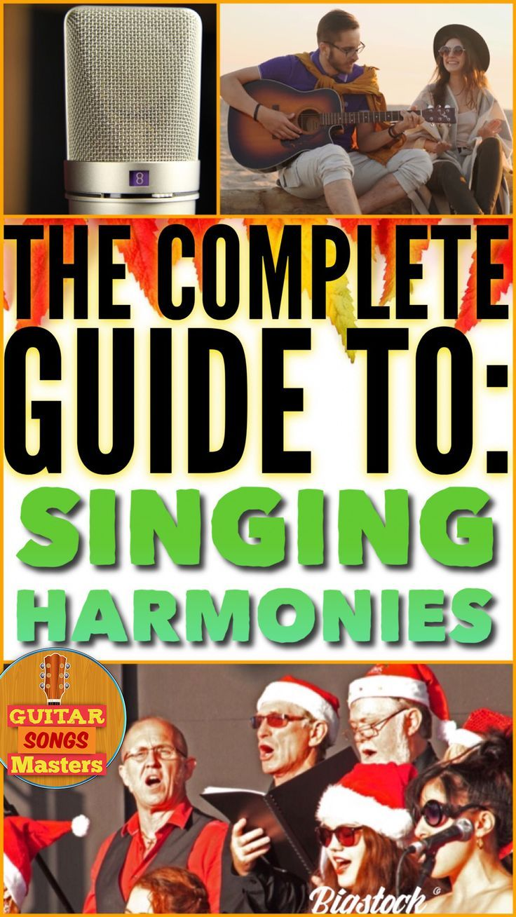 How To Sing Harmony And Complement Any Song! Singing