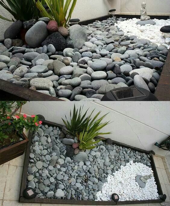 Diy cantinho zen pathways pinterest jardiner a for Ideas para jardines de campo
