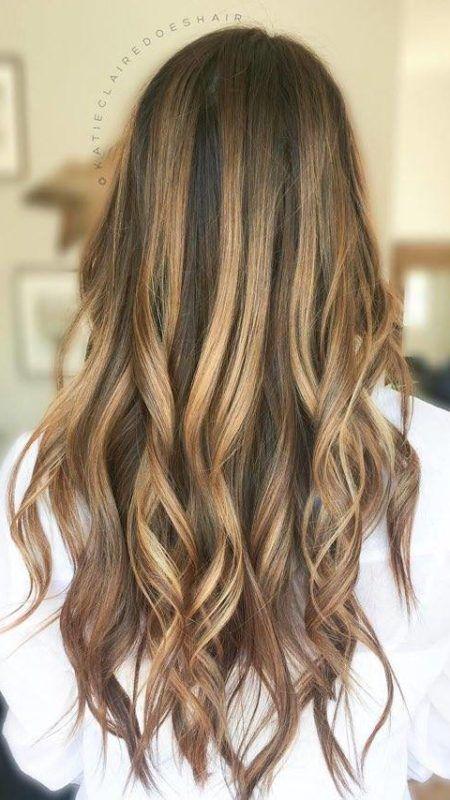 Braune haare oder blonde haare