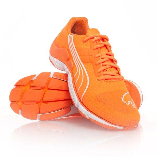 b95ded74eed68f Puma Mobium Elite Glow - Mens Running Shoes - Fluro Orange ...