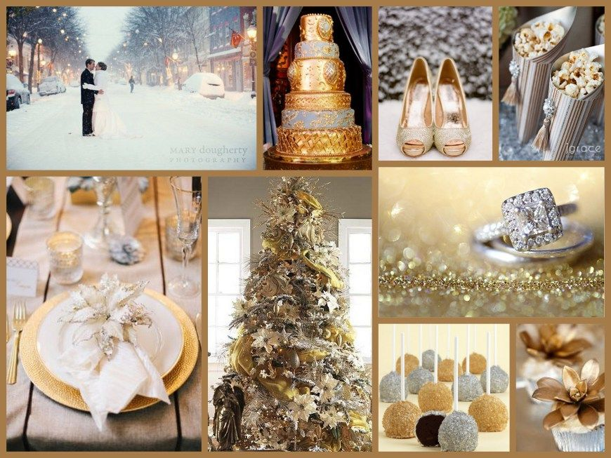 Silver Gold Wedding Themes Winter Gold Wedding Colors Wedding Colors