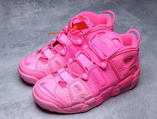 nike air more uptempo donna rosa