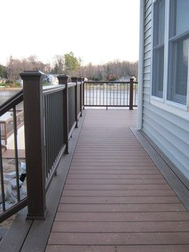 Two Tone Color With Darker Going Around The Border Of The Deck