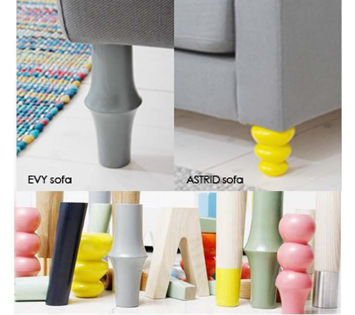 Add Color To The Room Prettypegs Replace Your IKEA Legs Http - Add color to your room prettypegs replace your ikea legs