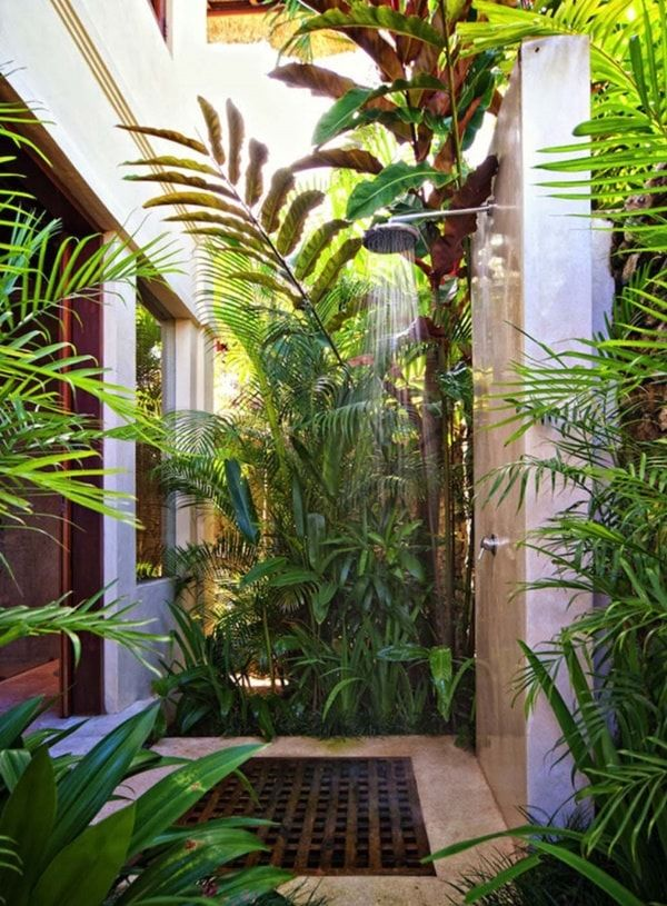 Superbe Outdoor Shower Enclosure Ideas Feature Fantastic Garden Shower Designs  Providing An Opportunity To Cool Off On Hot Summer Days Or After Work