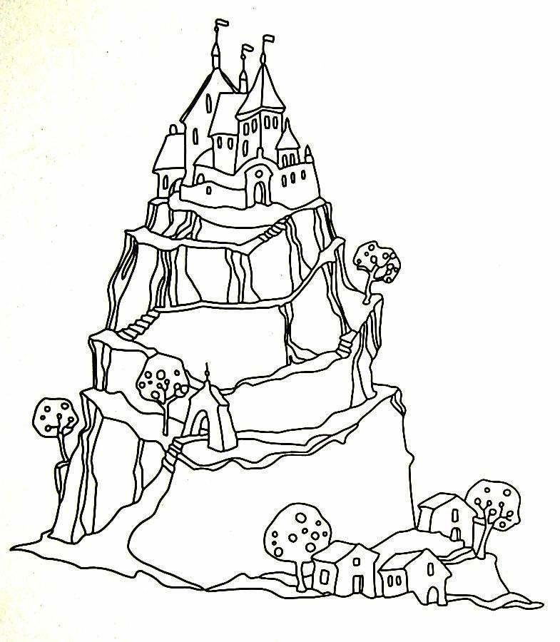 33++ Princess castle colouring pages ideas