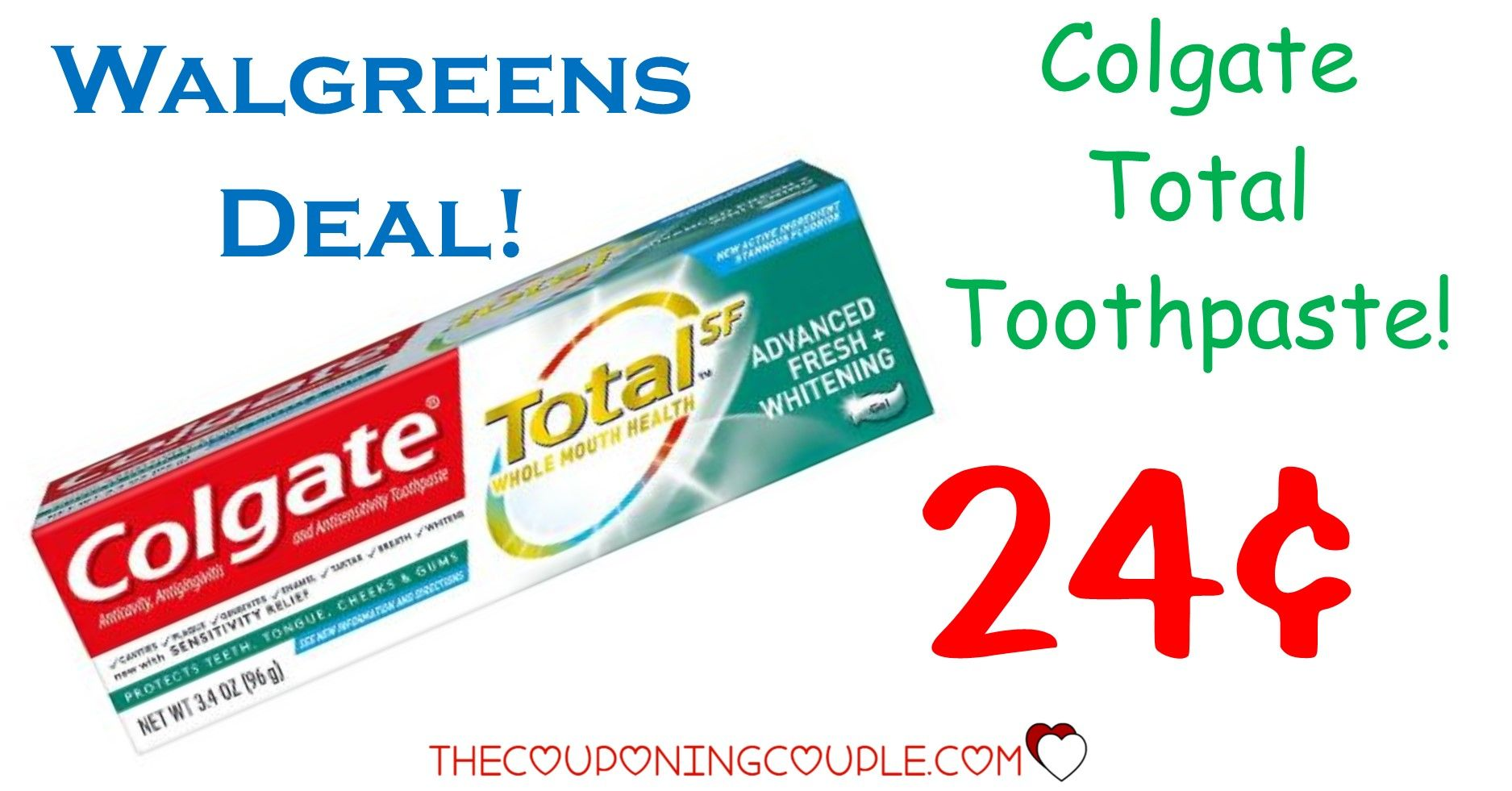 Colgate Toothpaste Max Or 2 In 1 Only 0 49 At Cvs In 2020