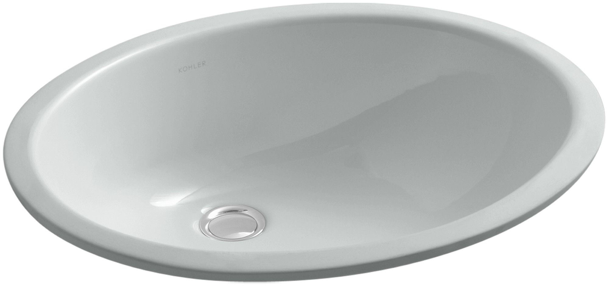 Caxton Undermount Bathroom Sink With Overflow And Clamp Assembly