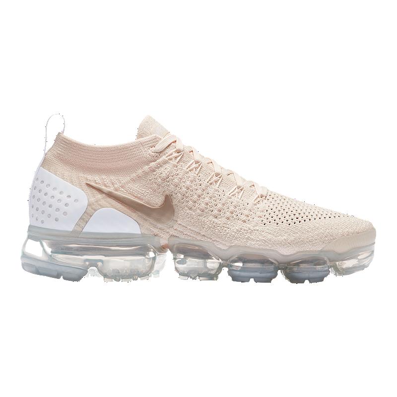 new product 0fd5c 714dc Nike Women s Air VaporMax Flyknit 2 Running Shoes - Cream Gold White   Sport  Chek