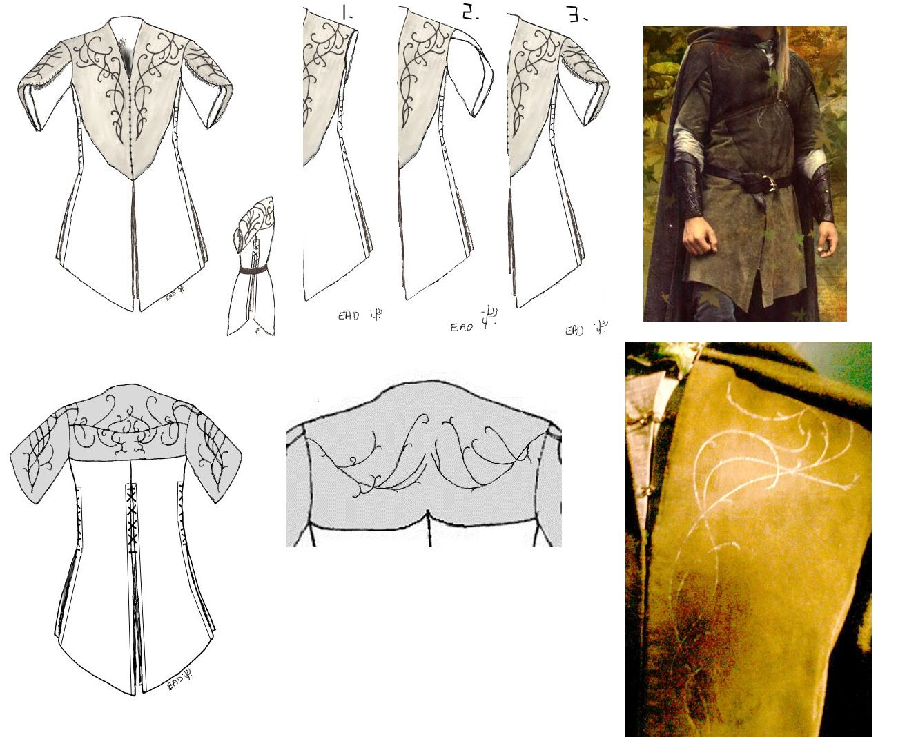 legolas costume pattern google search middle earth