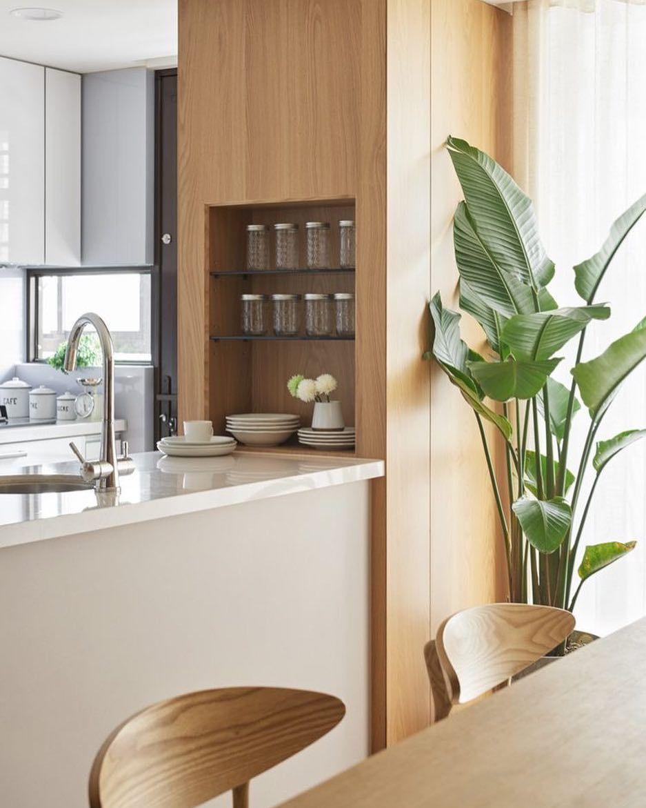 Ambientes Integrados Detalhes Entre A Sala E A Cozinha Nichos