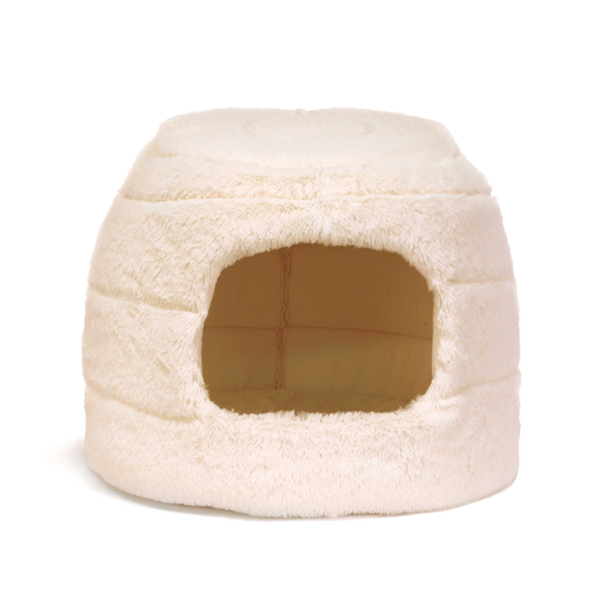 Best Friends By Sheri 2 In 1 Faux Fur Honeycomb Hut Cani