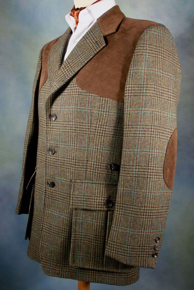 6ce21fd8b629a Tweed Shooting Jacket, Tweed Sport Coat, Tweed Blazer, Harris Tweed Jacket,  Tweed