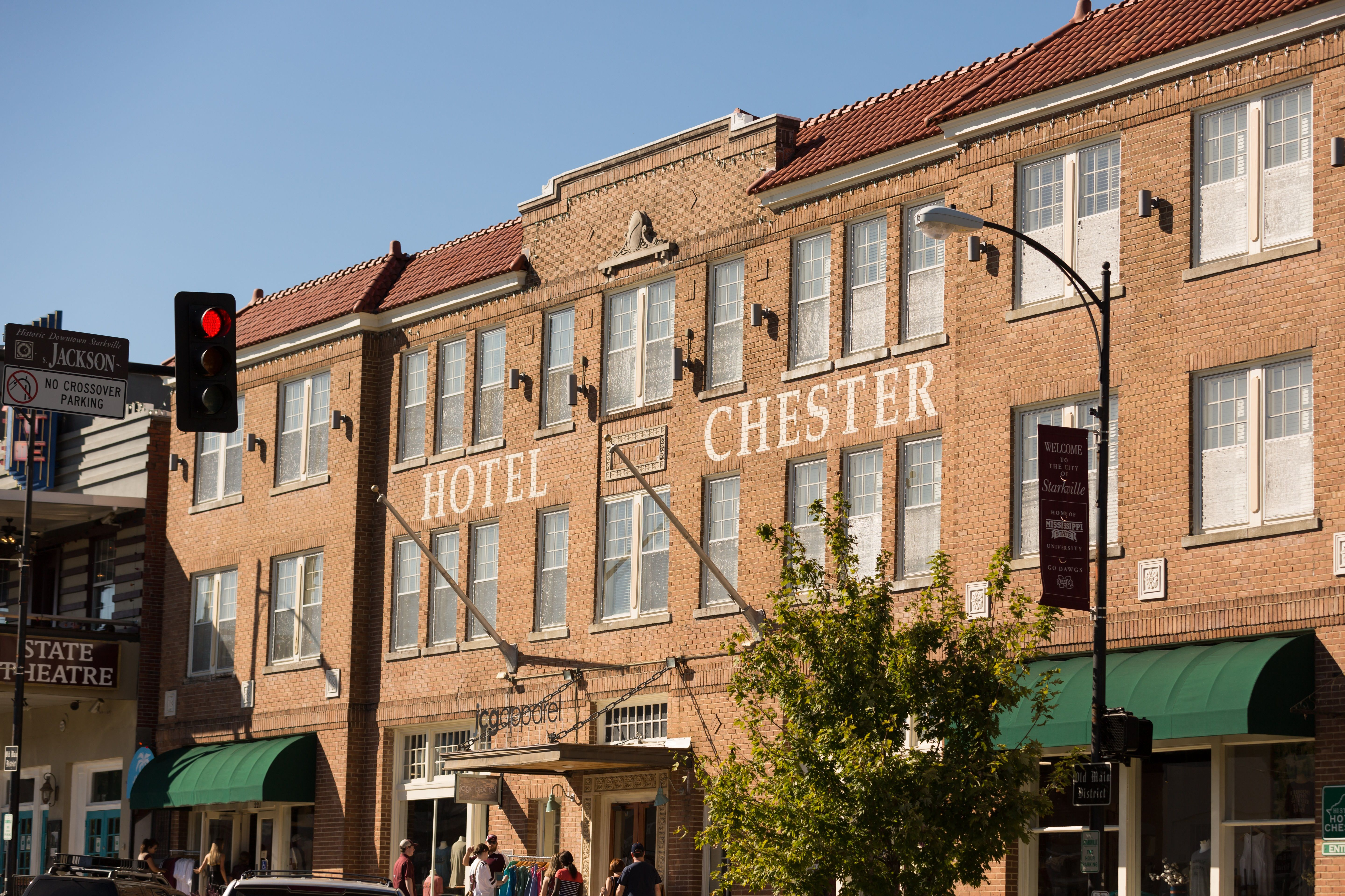 Located in historic downtown Starkville, Hotel Chester combines ...