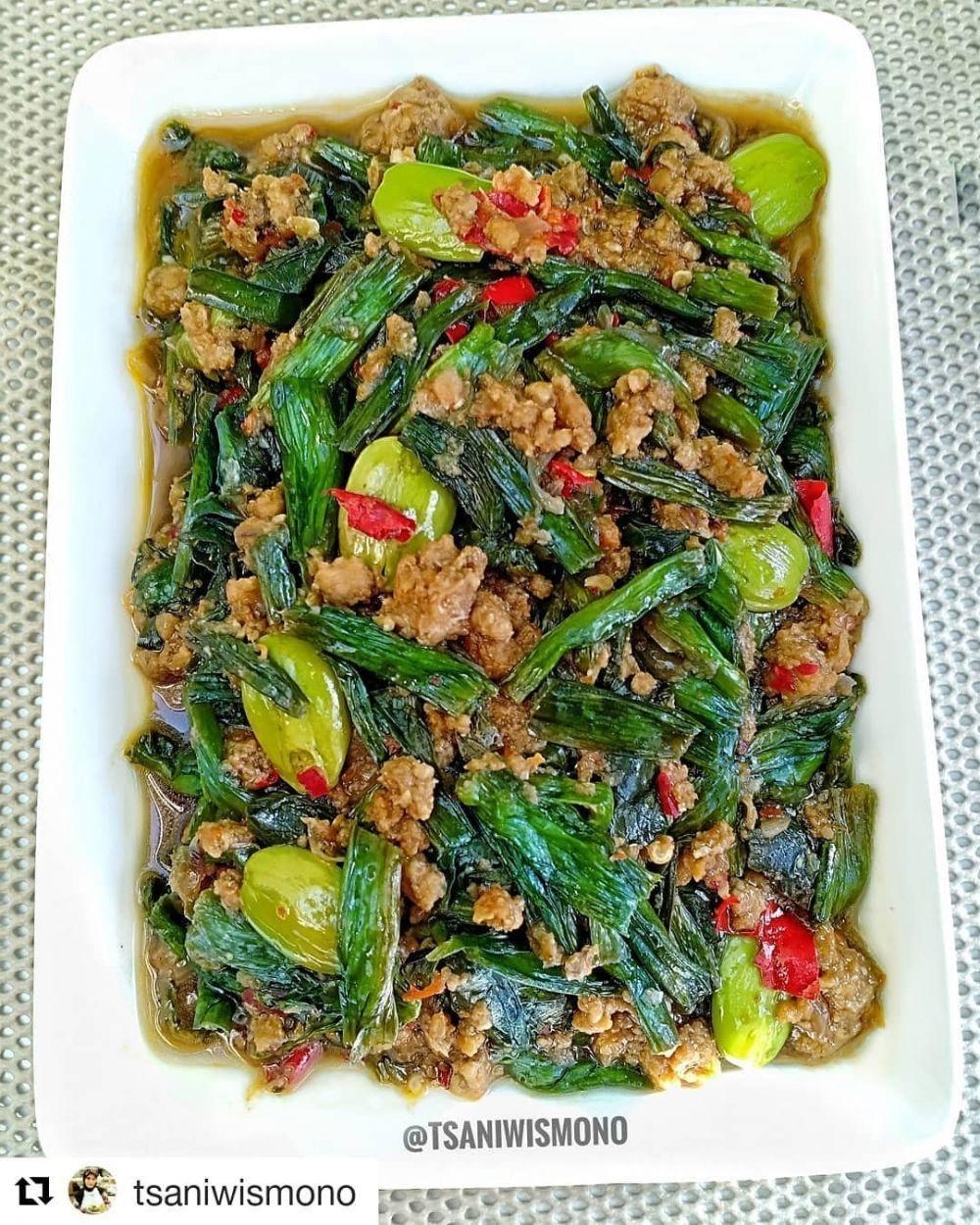 Resep Sayur Genjer C 2020 Brilio Net Sayuran Resep Resep Masakan Indonesia