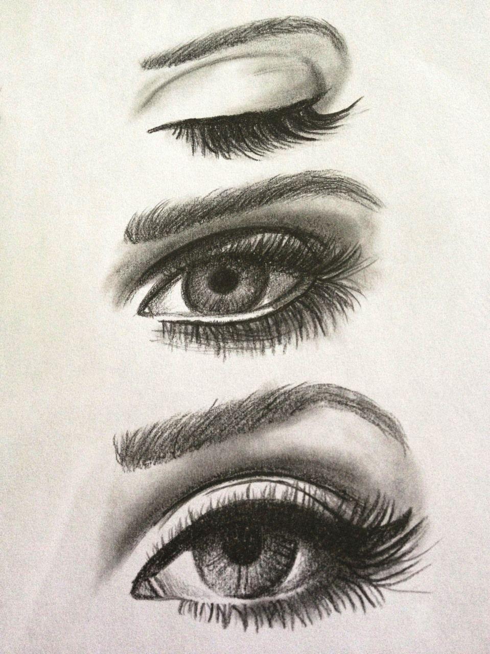 how to draw female eye 959x1280 eye pinterest eye drawings