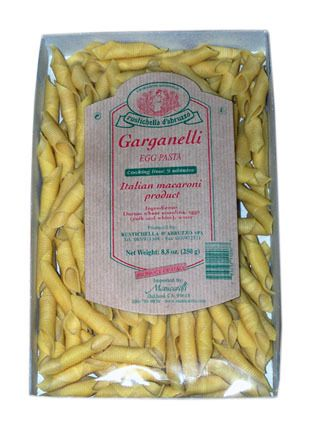 Garganelli Egg Pasta by Rustichella d'Abruzzo – Perfect with butter or cream-based sauces.  Buy Online.
