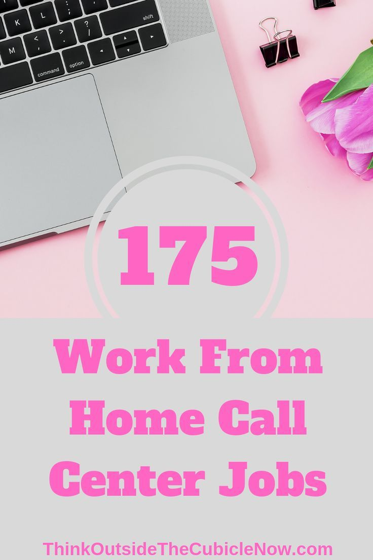 175 Work From Home Call Center Jobs Call Center Working From