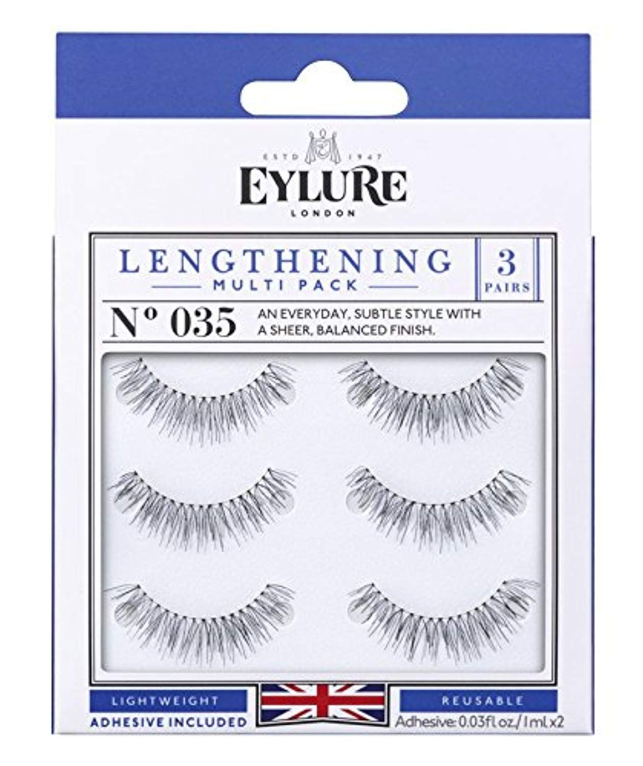 c4090236f03 Eylure Lengthening Eyelash Multipack, 035, 3 Count ** Click on the image  for additional details. (This is an affiliate link) #lashes