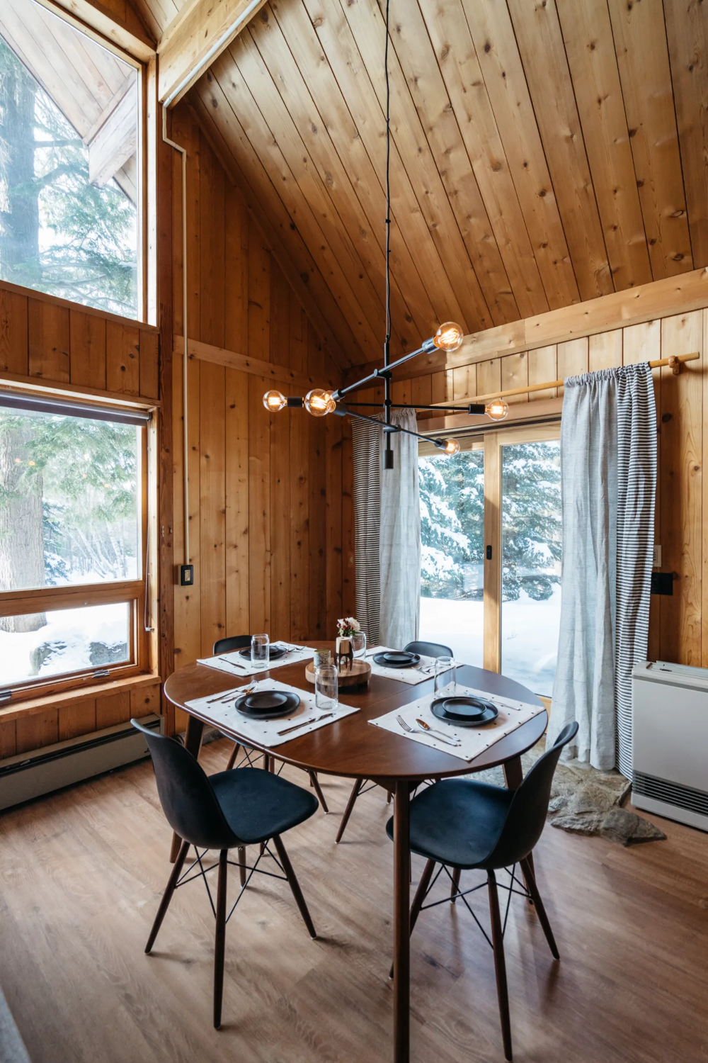 This Cozy Renovated Cabin Will Make You Crave Fall Temps
