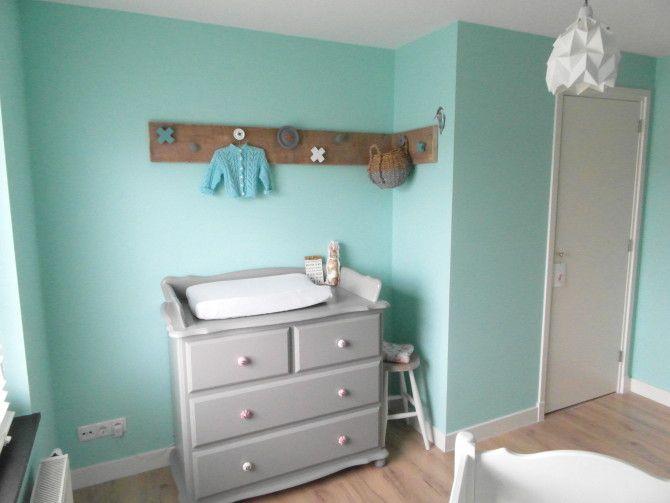 Babykamer behang mintgroen google zoeken babykamer mintgroen pinterest mintgroen - Slaapkamer kleur idee ...