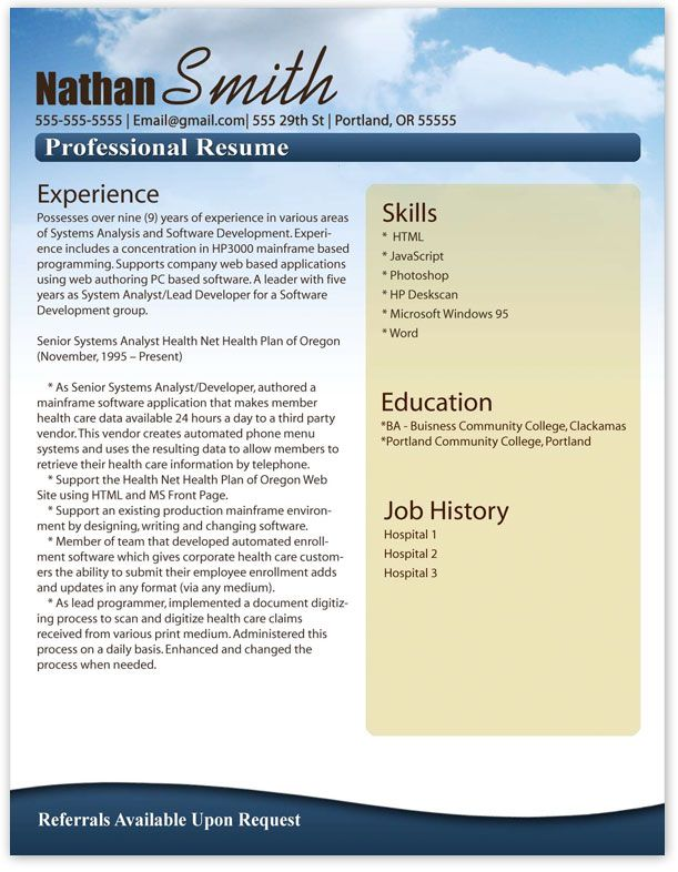Resume Template Word - http\/\/wwwjobresumewebsite\/resume - free resume download template